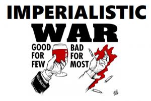 Imperialistisia sotia vastaan!*